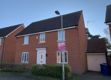 Thumbnail 4 bed detached house to rent in Windmill Close, Lakenheath