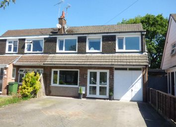 Thumbnail 4 bed semi-detached house for sale in Corfe Crescent, Hazel Grove, Stockport