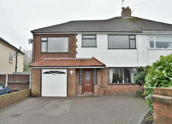 Thumbnail 4 bed semi-detached house for sale in Harbern Drive, Leigh