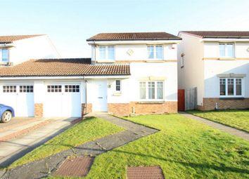 Thumbnail 3 bedroom link-detached house for sale in Harrysmuir Gardens, Pumpherston, Livingston, West Lothian