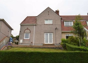 Thumbnail 3 bedroom end terrace house for sale in Pantycelyn Road, Swansea