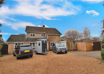 Thumbnail 4 bed detached house to rent in High Street, Castor, Peterborough