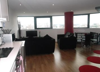 Thumbnail 2 bedroom flat to rent in Water Lane, Bridgewater Place, Leeds