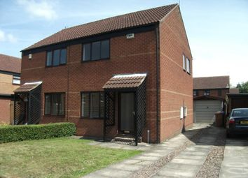Thumbnail 2 bed semi-detached house to rent in The Sycamores, Beverley