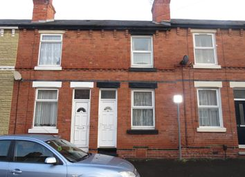 Thumbnail 2 bedroom terraced house for sale in Hazelwood Road, Nottingham