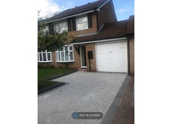 Thumbnail 3 bed semi-detached house to rent in Downton Close, Coventry