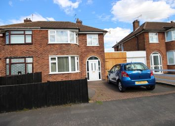Thumbnail 3 bed semi-detached house to rent in Kingsway, Leicester
