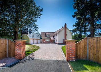 Thumbnail 4 bed detached house for sale in Church Road, Elmswell, Bury St. Edmunds