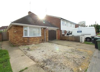 Thumbnail 3 bed bungalow to rent in Toddington Road, Luton