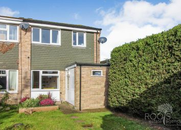 Thumbnail 3 bed end terrace house for sale in Browning Close, Thatcham