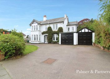 Thumbnail 6 bedroom detached house for sale in Henley Road, Ipswich