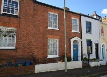 Thumbnail 2 bed terraced house for sale in Bicton Street, Exmouth, Devon