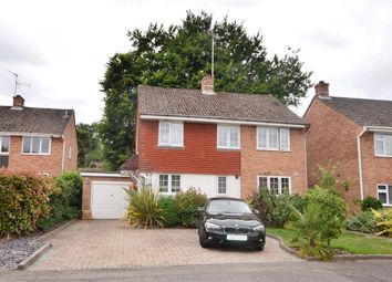 Thumbnail 4 bedroom detached house for sale in Poynings Crescent, Basingstoke, Hampshire