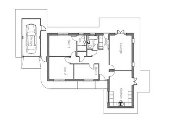 Thumbnail 3 bedroom detached bungalow for sale in Mulberry Avenue, Penwortham, Preston