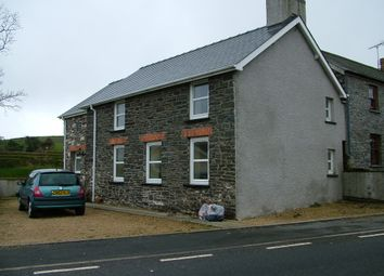 Thumbnail 3 bed detached house to rent in Moriah, Capel Seion