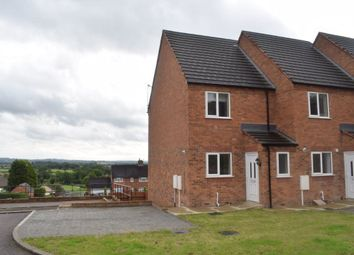 Thumbnail 3 bedroom town house to rent in Haworth Close, Stretton, Alfreton