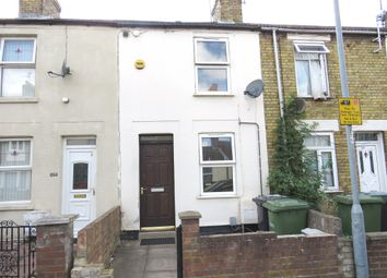 Thumbnail 2 bed terraced house for sale in Gladstone Street, Peterborough