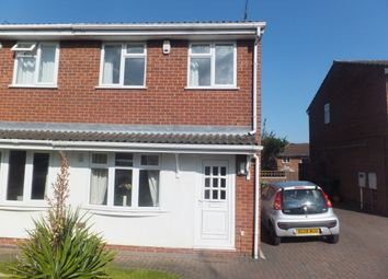 Thumbnail 2 bed semi-detached house to rent in Ruskin Close, Galley Common