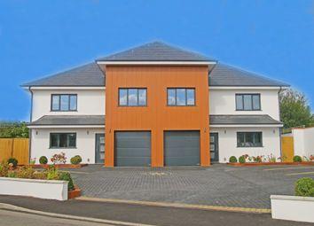 Thumbnail 4 bedroom semi-detached house for sale in Cowdray Drive, La Route De Noirmont, St. Brelade, Jersey