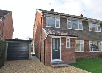 Thumbnail 3 bed semi-detached house to rent in Fern Drive, Church Crookham, Fleet