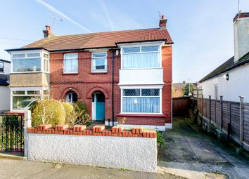 Thumbnail 3 bed semi-detached house for sale in Arnold Road, Gravesend