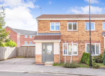 Thumbnail 3 bed semi-detached house for sale in Wakelam Drive, Armthorpe, Doncaster