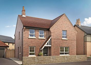 "Thumbnail 4 bedroom detached house for sale in ""Radleigh"" at Grange Road, Hugglescote, Coalville"