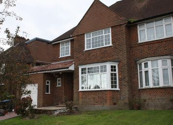 Thumbnail 4 bed semi-detached house to rent in Chase Road, London