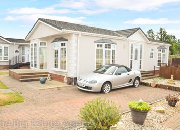 Thumbnail 2 bed mobile/park home for sale in Hawkstone Park, Whittington Road, Oswestry