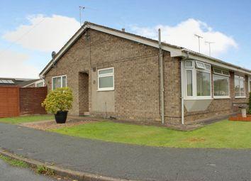 Castle Close, Leconfield, Beverley HU17. 2 bed semi-detached bungalow