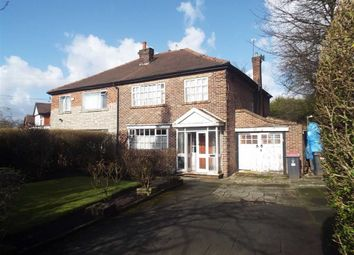 Thumbnail 4 bedroom semi-detached house for sale in Leicester Road, Salford