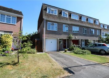 Thumbnail 4 bed end terrace house for sale in The Thicket, Romsey, Hampshire