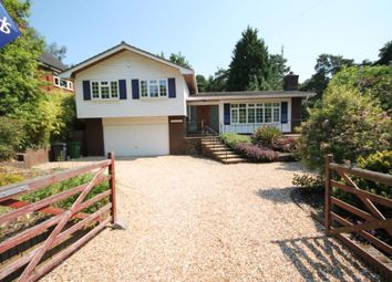 Thumbnail 4 bedroom detached house to rent in Diamond Ridge, Camberley, Surrey