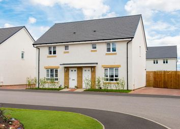 "Thumbnail 3 bed terraced house for sale in ""Coull"" at Mavor Avenue, East Kilbride, Glasgow"