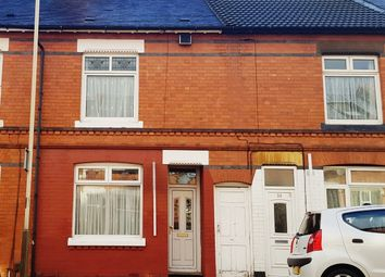 Thumbnail 3 bed terraced house to rent in Lyme Road, Leicester