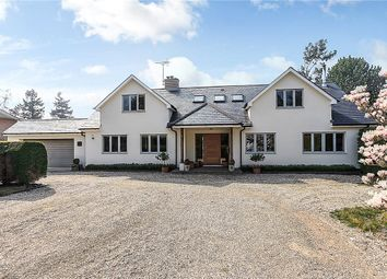 Thumbnail 4 bed detached house for sale in Pond Lane, Hermitage, Thatcham, Berkshire
