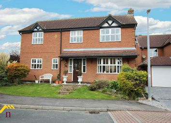 Thumbnail 4 bedroom detached house for sale in Sackville Close, Beverley