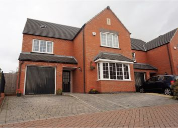 Thumbnail 5 bed detached house for sale in Monterey Court, Leicester