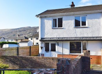 Thumbnail 3 bedroom semi-detached house for sale in Glanyrafon Road, Swansea