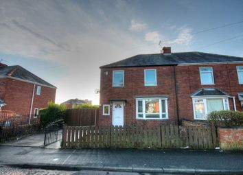 Thumbnail 3 bed semi-detached house for sale in West Avenue, Westerhope, Newcastle Upon Tyne