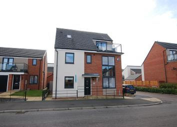 Thumbnail 5 bedroom detached house for sale in Lynemouth Way, Newcastle Upon Tyne