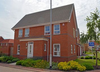 Thumbnail 3 bed detached house for sale in Harrier Close, Scunthorpe