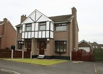 Thumbnail 3 bed semi-detached house to rent in Killowen Grange, Lisburn