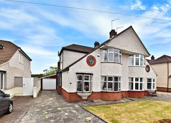 Thumbnail 3 bed semi-detached house for sale in Valentine Avenue, Bexley, Kent