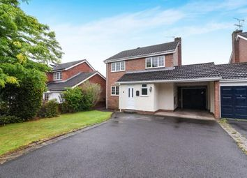 Thumbnail 4 bed link-detached house for sale in Kempsford Close, Redditch, Worcestershire, Oakenshaw South