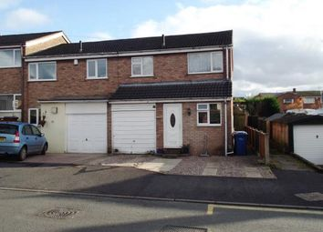 Thumbnail 3 bed end terrace house for sale in Queen Street, Chase Terrace, Burntwood