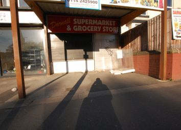 Thumbnail Commercial property to let in Main Road, Sheffield, South Yorkshire