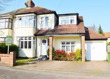 Thumbnail 4 bedroom semi-detached house for sale in Cranham Road, Hornchurch