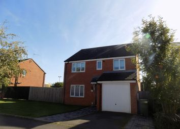 Thumbnail 4 bed detached house to rent in Fieldhouse Way, Stafford