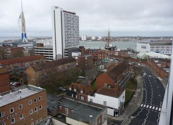 Thumbnail 1 bed flat for sale in Admiralty Tower, Queen Street, Portsmouth